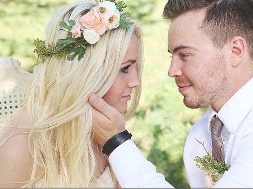Bohemian Ranunculous Bridal Crown