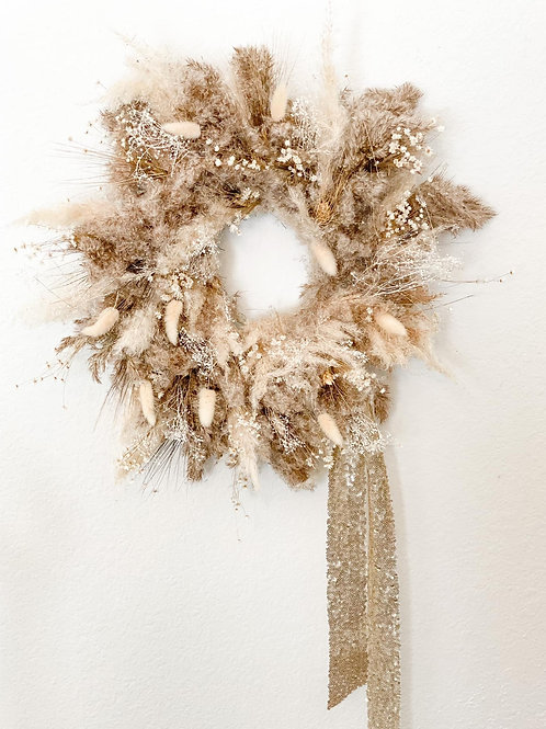 Rory Collection - Pampas Grass Wreath