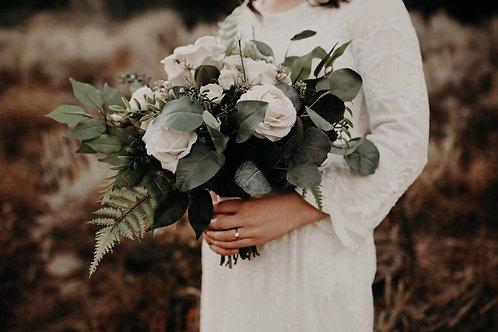 The Shelby - Silk neutral bohemian Bridal bouquet