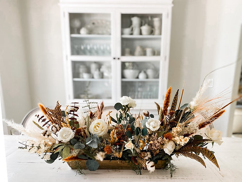 The Autumn Collection - Floral Fall centerpiece
