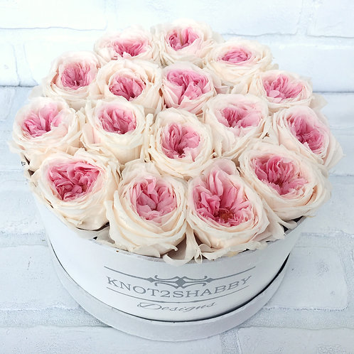Two Toned Boxed Preserved roses - Roses that last