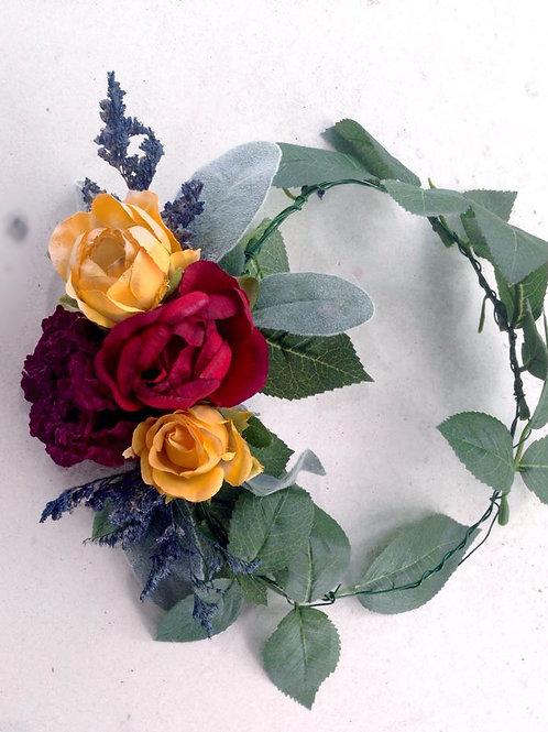 Fall Woodsland Flower Crown