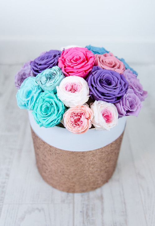 These Unicorn Themed Forever Roses Are Real That Have Been Freeze Dried To Last One Year Plus What Is Better Than A
