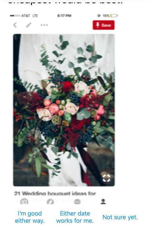 Moffitt silk wedding for October 18, 2019
