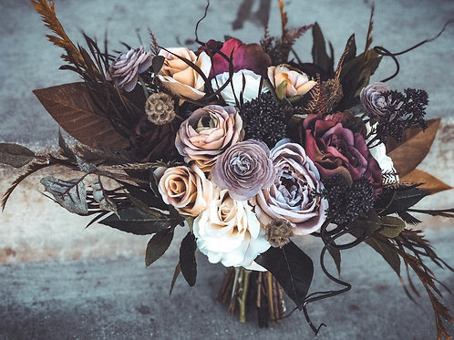 The Matilda Collection- silk moody bridal bouquet