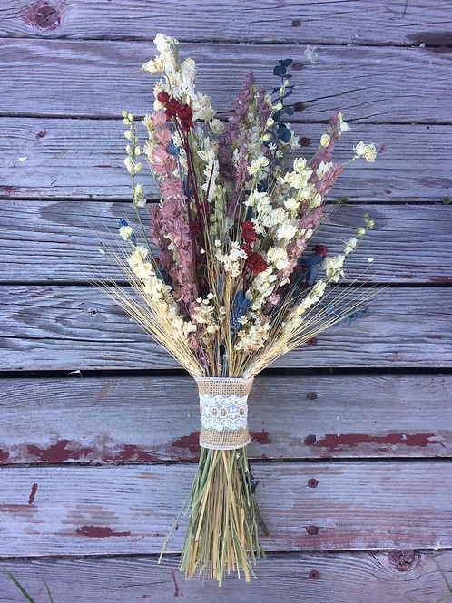 Americana with a country twist bouquet
