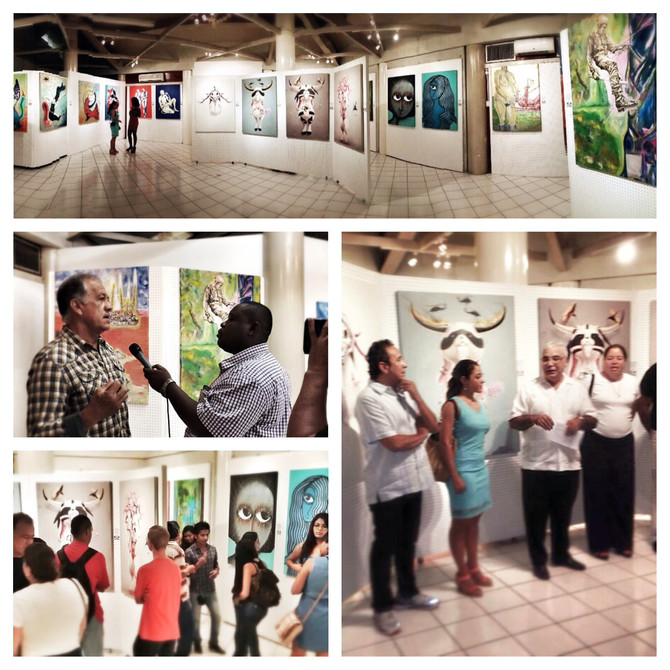 Mexican artists exhibit in Belize