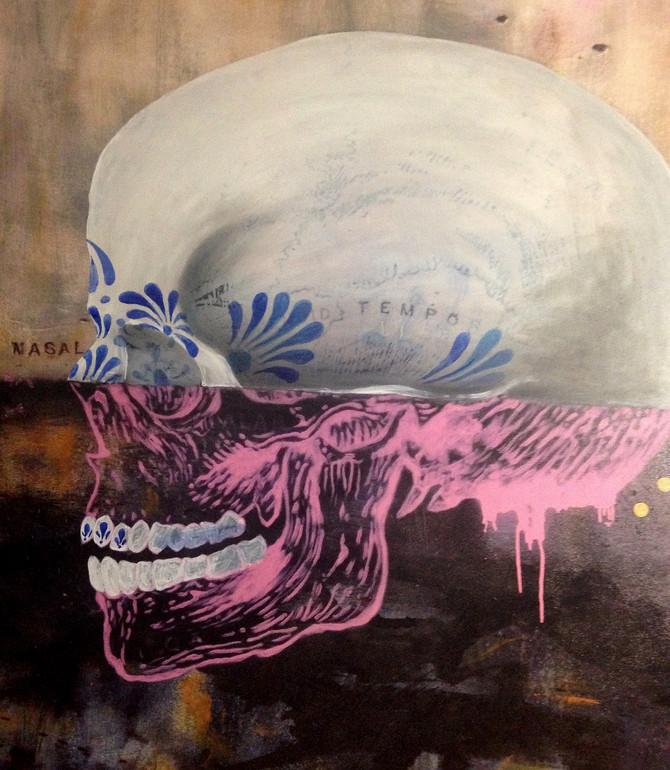 New piece in progress for Cranium series