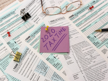 4 Areas to Be Mindful of When Filling Your 2020 Income Taxes