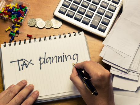 Let's Get Started! 2020 Year-End Tax Planning