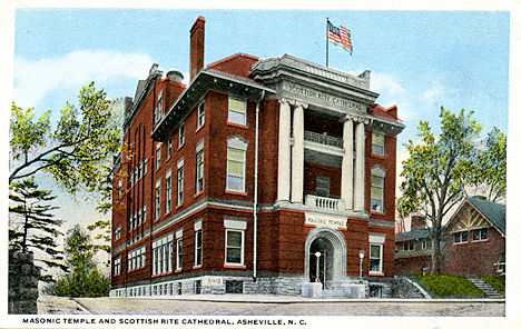 Asheville historic masonic temple