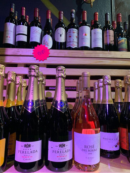 A huge selection of wines