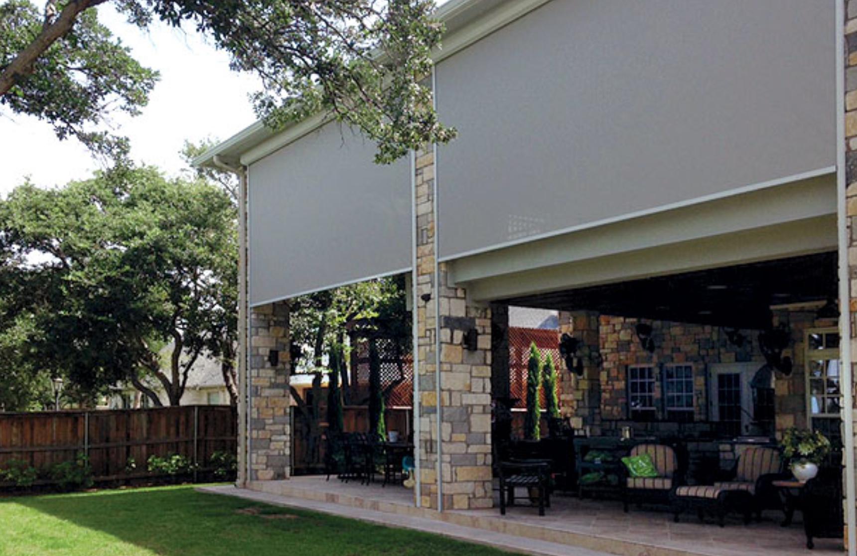 Retractable Exterior Screens
