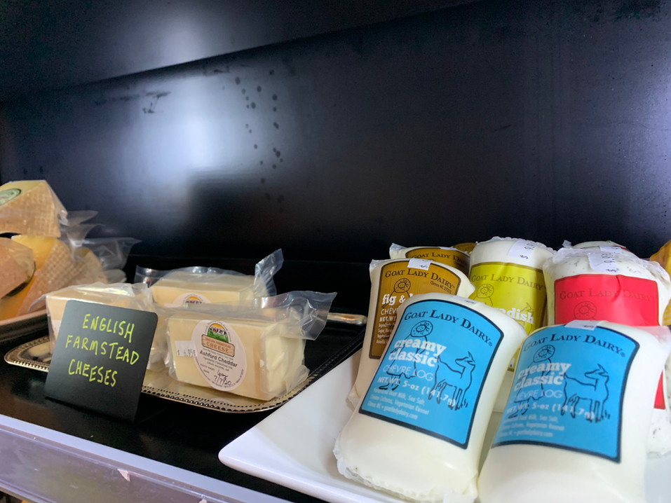 Local cheeses!