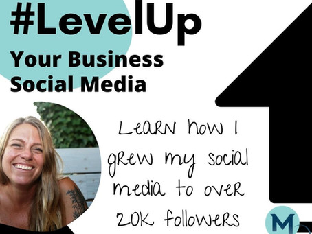 Sign Up for October! #LevelUp Your Business Social Media Game