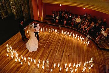 Beautiful weddings at the historic asheville masonic temple.