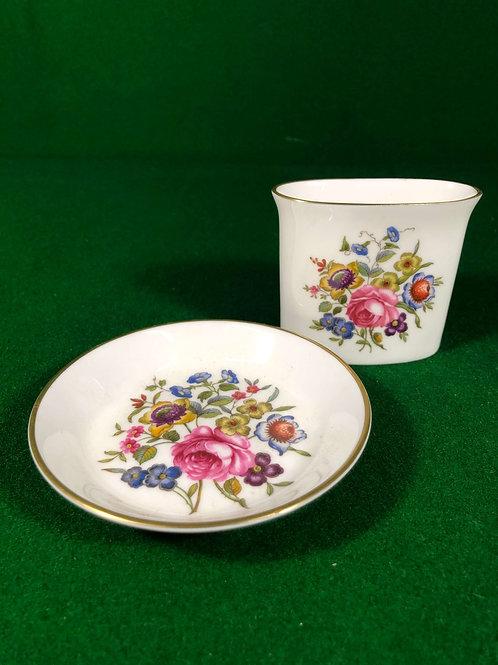 Cased Royal Worcester Set