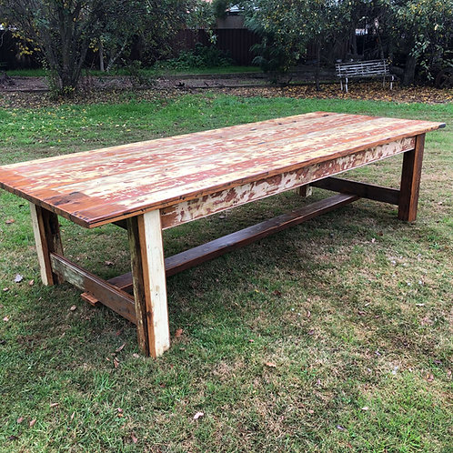 Recycled Cypress Pine Table