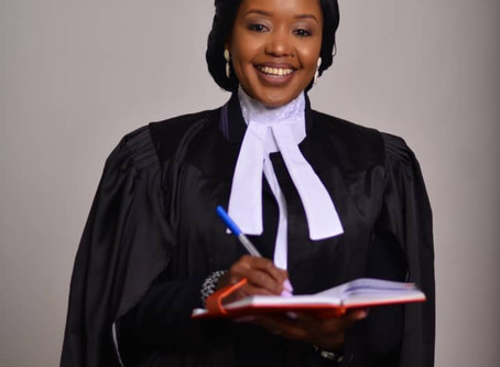 Congratulations to Winnefrida Manyanga on becoming an Advocate!!