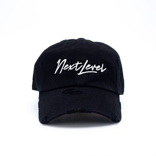 Black & White Next Level Hat