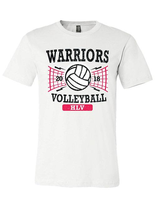 Warriors Volleyball Tee