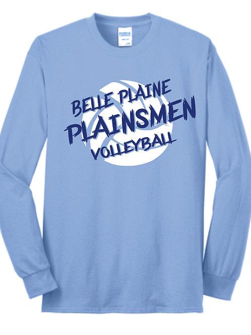 Belle Plaine Volleyball  Long Sleeve T-Shirt