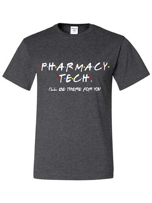 "Pharmacy Tech - Community Health ""Friends"" style t-shirt"