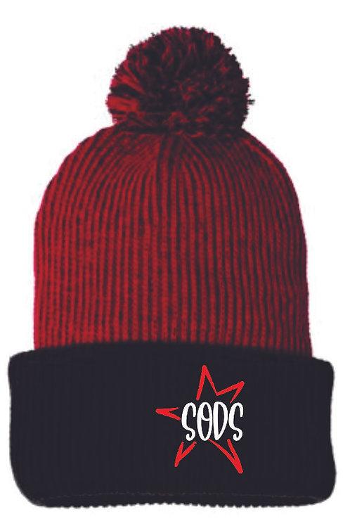 SODS Pom Pom Stocking Hat