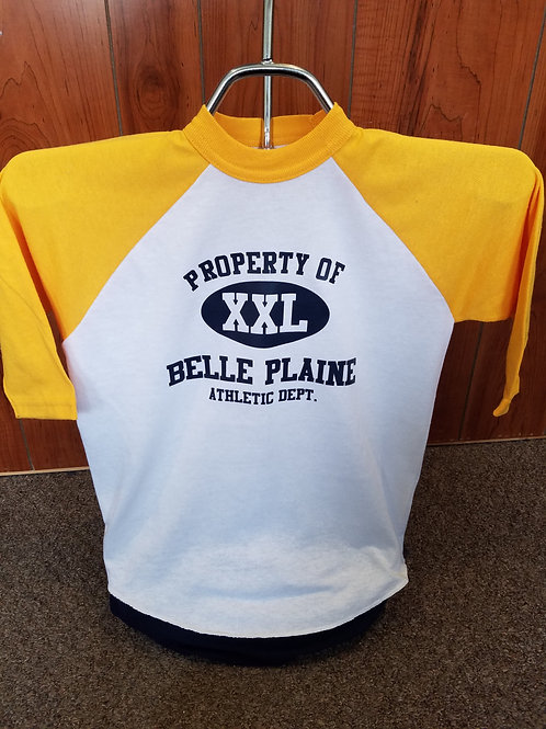 Property of Belle Plaine Youth 3/4 Sleeve