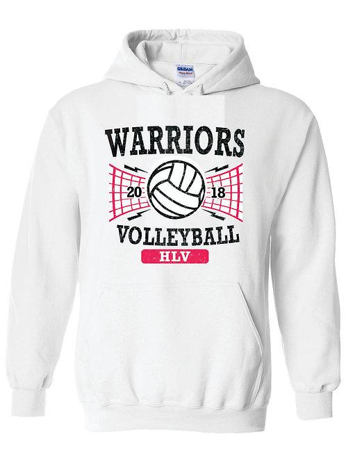Warriors Volleyball Hoodie
