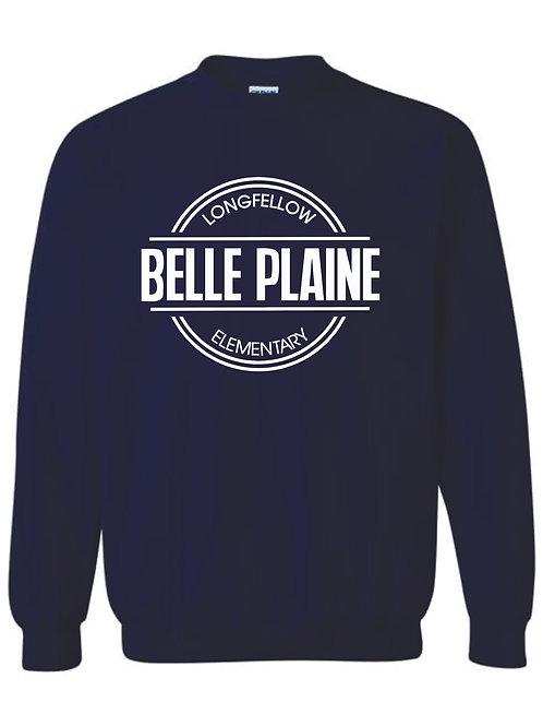Hooded Sweatshirt - Navy or Heather Grey with circle logo