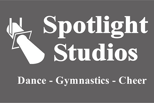 Spotlight Window Sticker