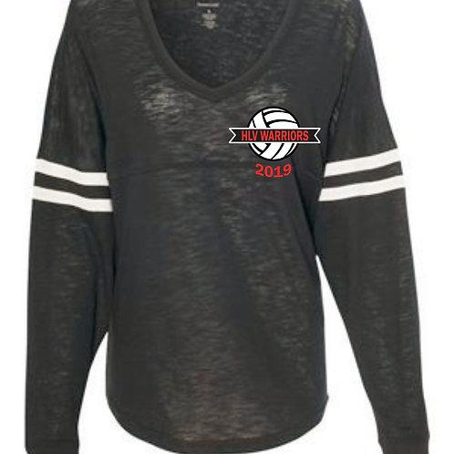 HLV Volleyball Long Sleeve V-Neck