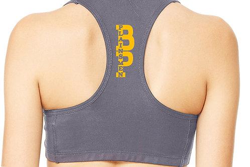 Plus Size Yellow/Grey or Navy/White Sports Bra