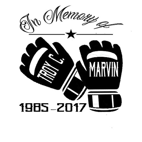 Small Troy C. Marvin Car Decal