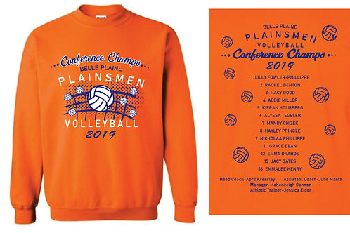 BP Volleyball Conference Champ Crewneck