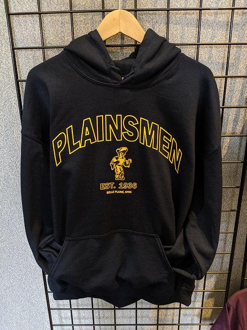 Navy Plainsmen Hoodie