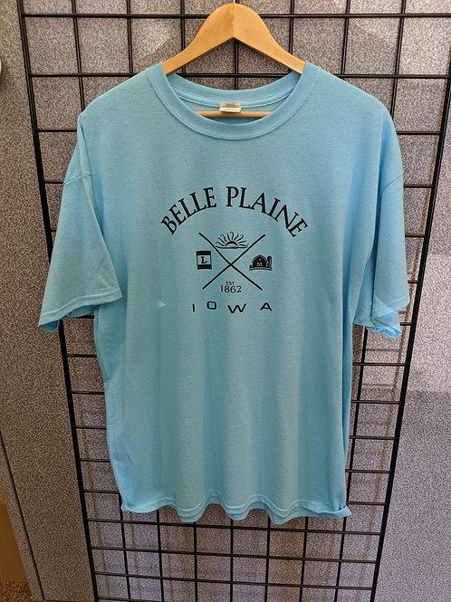 Belle Plaine Quadrant Tee