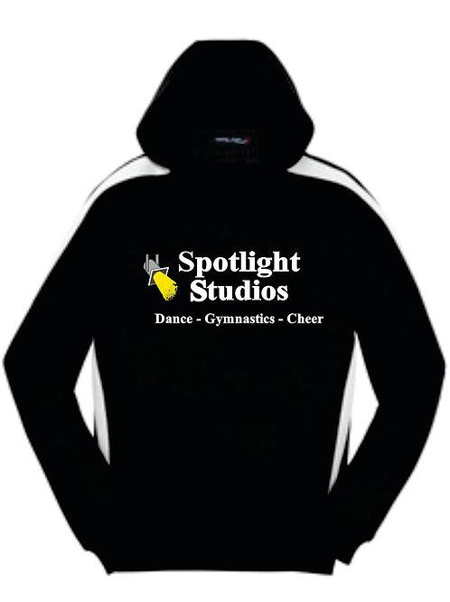 Spotlight Black & White Hoodie