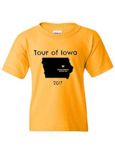Youth Tour of Iowa T-Shirt