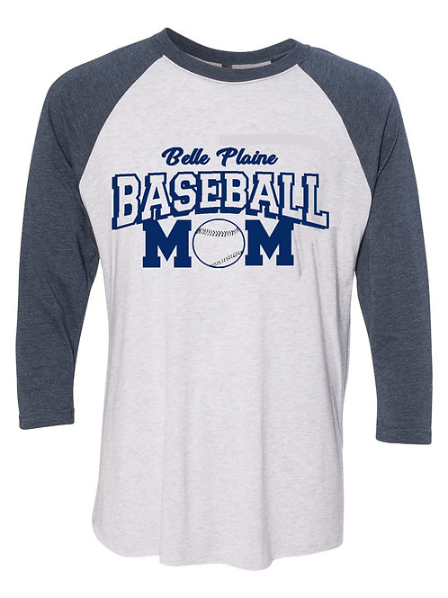 Baseball/Softball Mom/Dad 3/4 Sleeve