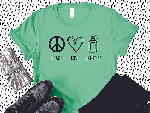Corona Collection - Peace Love Sanitize