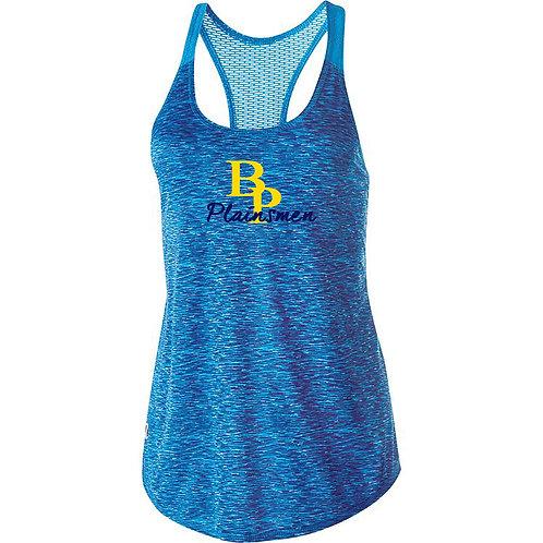 Ladies Blue or Yellow Racerback Performance Top