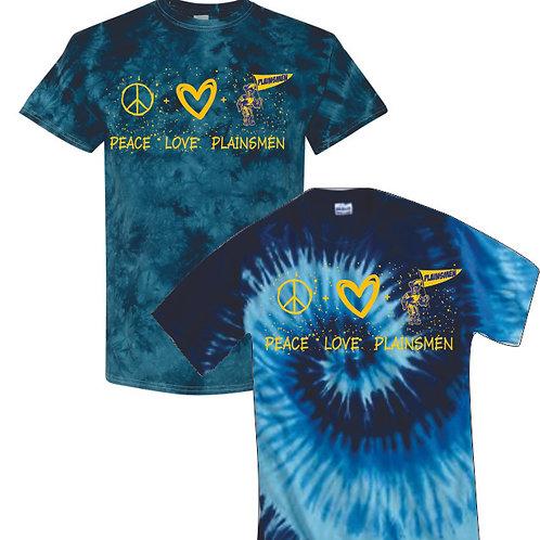 Peace Love Plainsmen Tie Dyes
