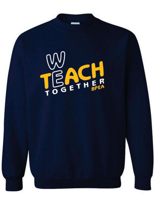 We Teach Crewneck