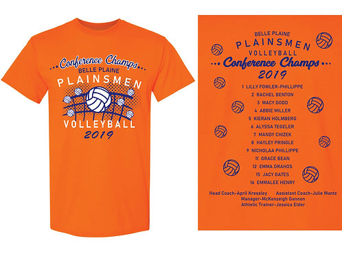 BP Volleyball Conference Champ Tee