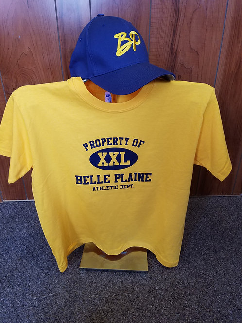 Property of Belle Plaine Shirt & Hat Combo