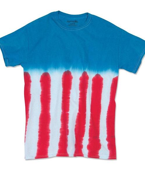 Plus Size Blank Tie Dye T-Shirts
