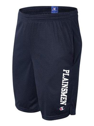 Plus Size Men's Champion Mesh Shorts