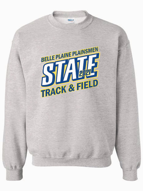 BP STATE TRACK CREW SWEATSHIRT 2 COLOR CHOICES